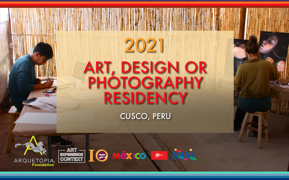2021 Art Design or Photography Residency Cusco copy 2