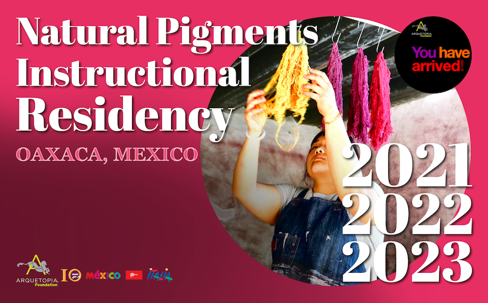 Arquetopia Natural Pigments Residency Oaxaca 2023
