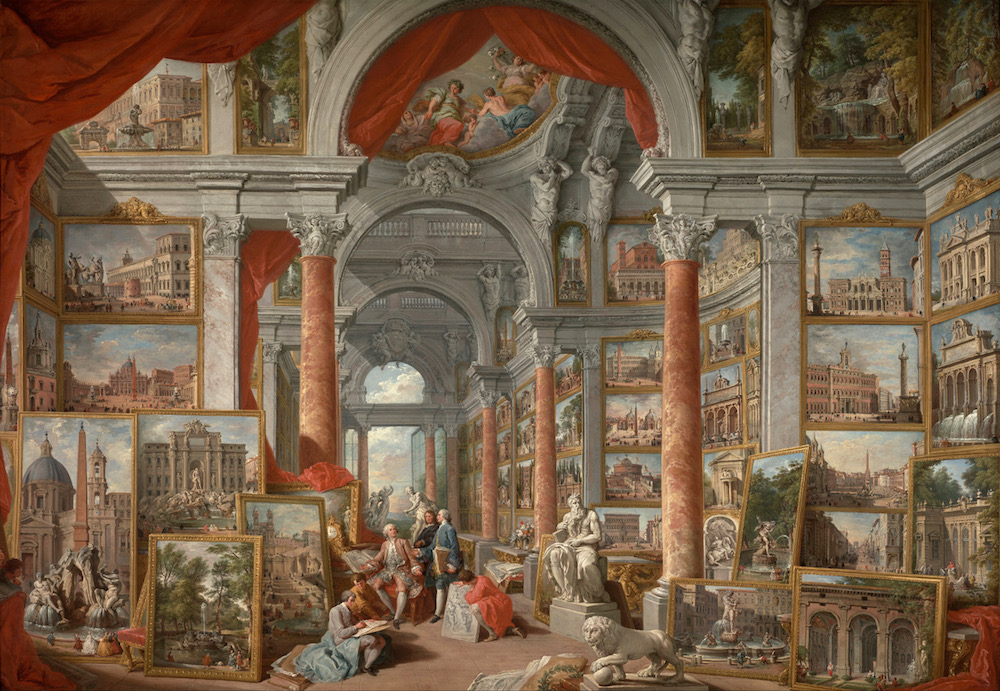 Giovanni Paolo Pannini Picture Gallery with Views of Modern Rome Google Art Project